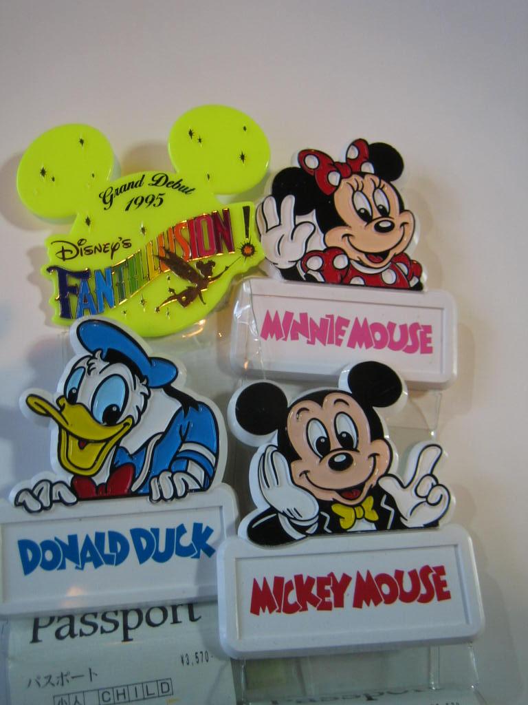 明日は、ディズニーシー☆1995年チケットホルダー見つけた!: めいる♥めいる